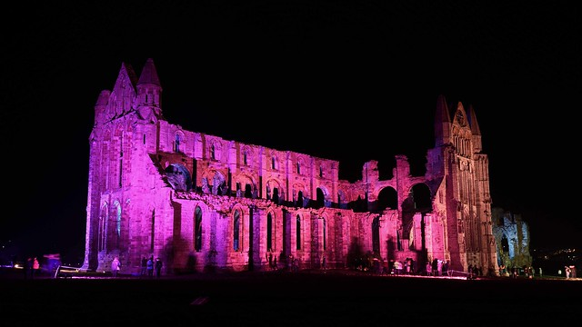 The Abbey illuminated