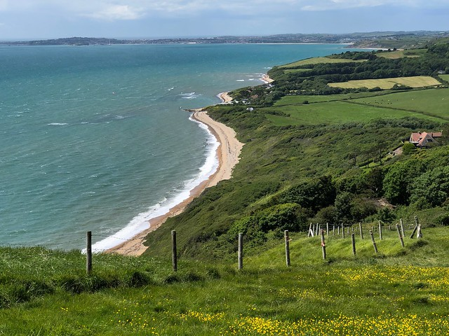 Weymouth Bay from White Nothe, Dorset