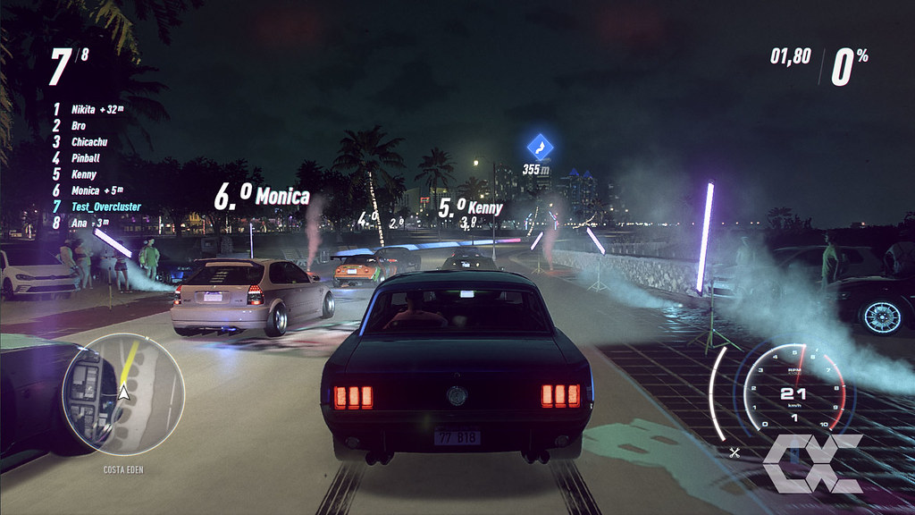 Review Need for Speed Heat - Overcluster 03