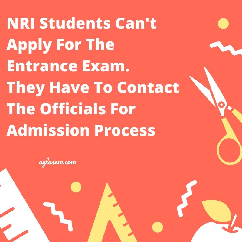 Admission for NRI Students