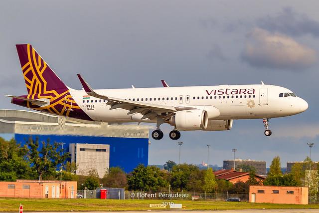F-WWIX // VT-TNU Vistara Airbus A320-251N MSN 9367