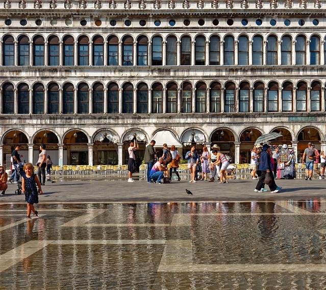 Venezia / Aqua Alta / Piazza San Marco