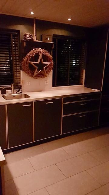 Landelijke keuken krans met ster