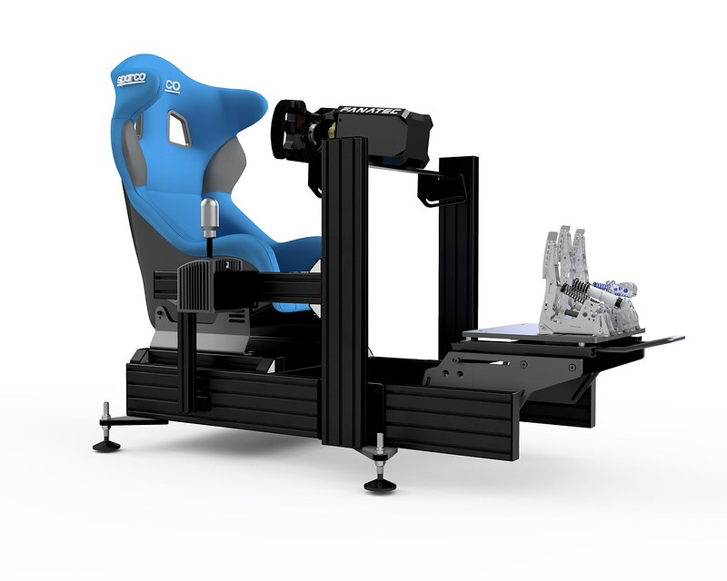 Sim Lab P1-X Sim Racing Chassis Side