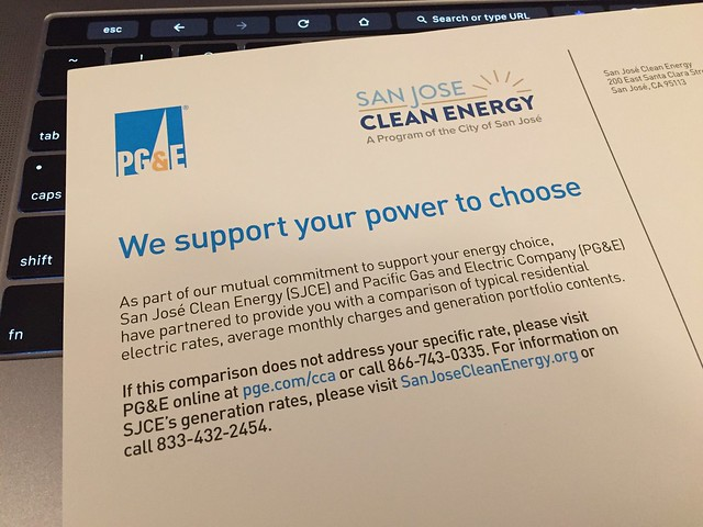 We support your power to choice