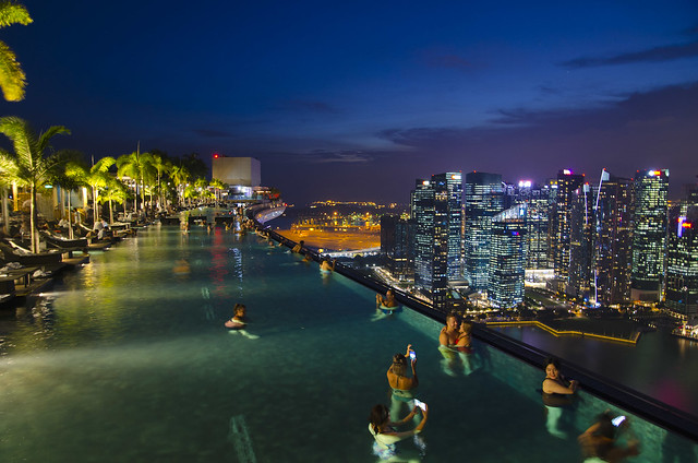 Marina Bay Sands Infinity Pool (Singapore)