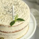 citromos mákos torta málnazselével