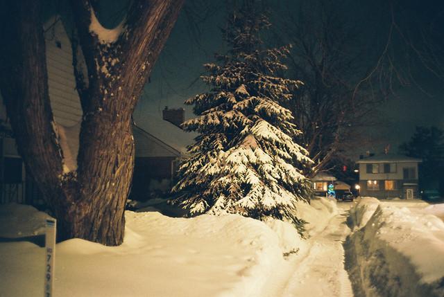 Snowfall in Ottawa