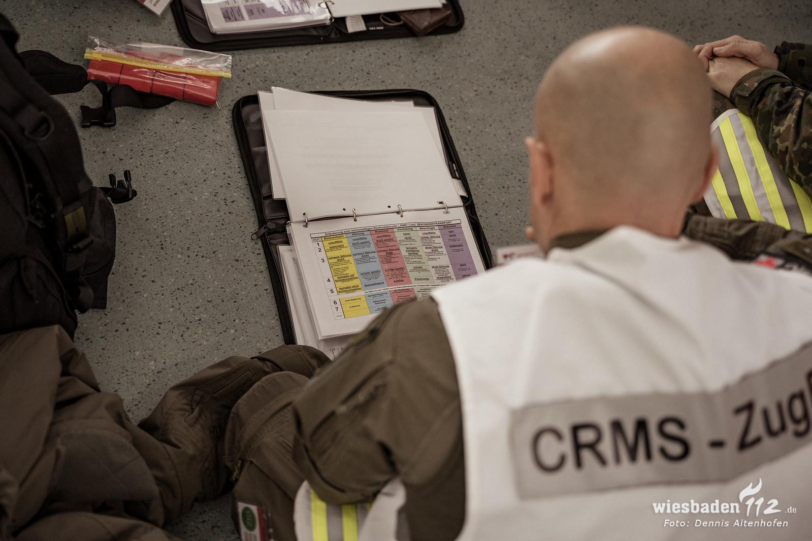 Bereit für den Ernstfall: Fortbildung für Einsatzmedizin 18F im Oktober 2019