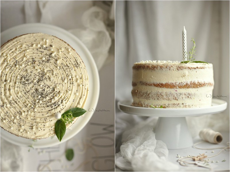 lemon - poppy seed cake