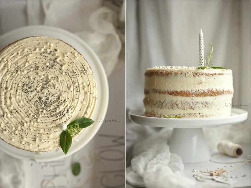 lemon - poppy seed cake