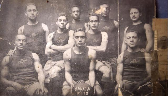 E. B. Henderson and D.C. basketball team: 1910