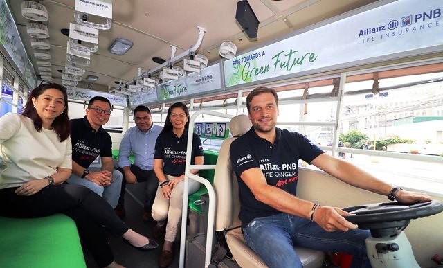 Allianz PNB e-Sakay E-Jeepney
