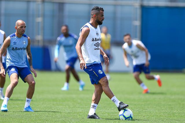 Treino Grêmio 15/11/19