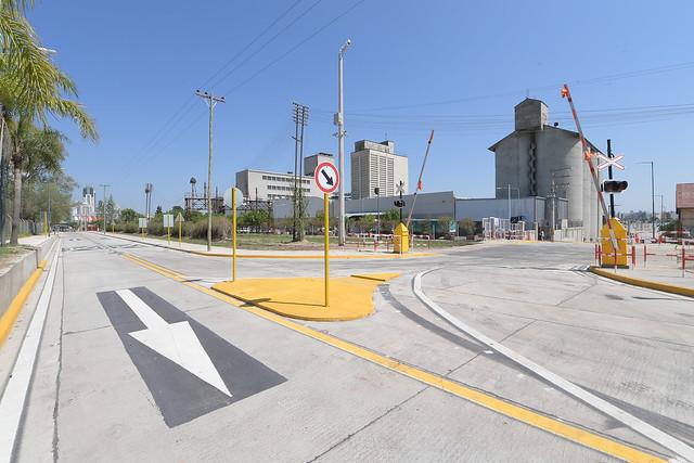 Habilitaron una vía directa entre Terminal y Corredor Costanera
