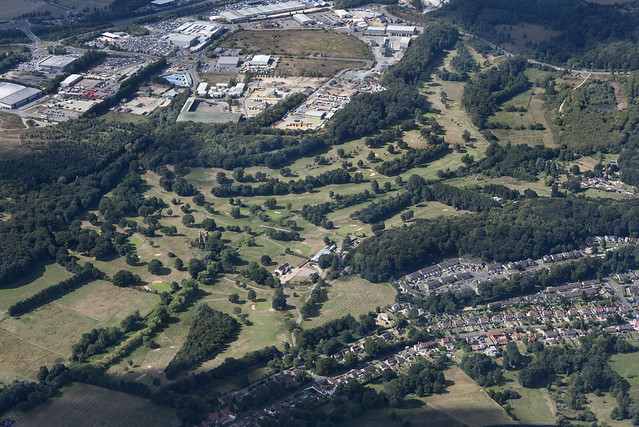 Costessey Park Golf Club - Norwich aerial image