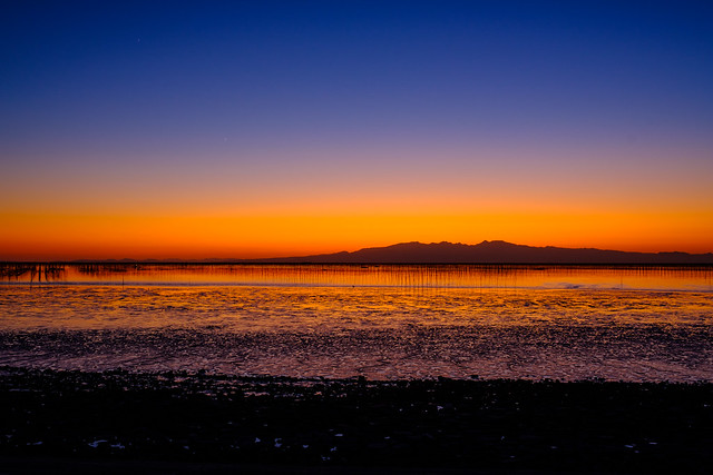 DSCF2354 多良岳残照 Mt.Taradake Sunset