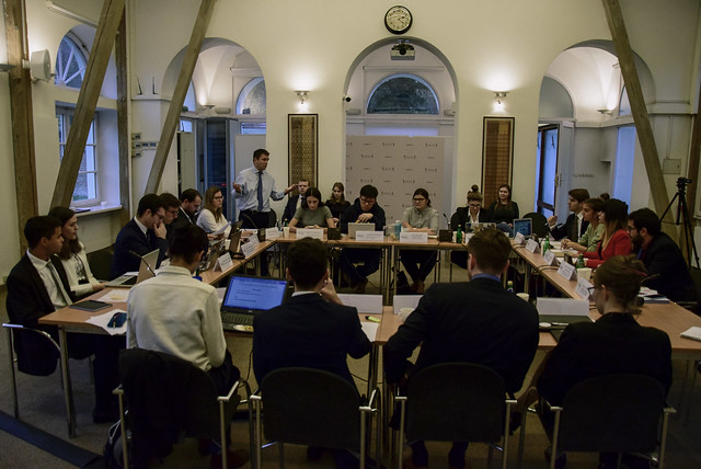 9-10.11.2019 - Simulation of the Minsk III Agreements (pictures by Celia ZAYAS ESPINOSA)