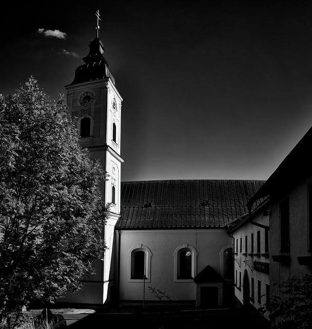 Die Klosterkirche von St. Oswald