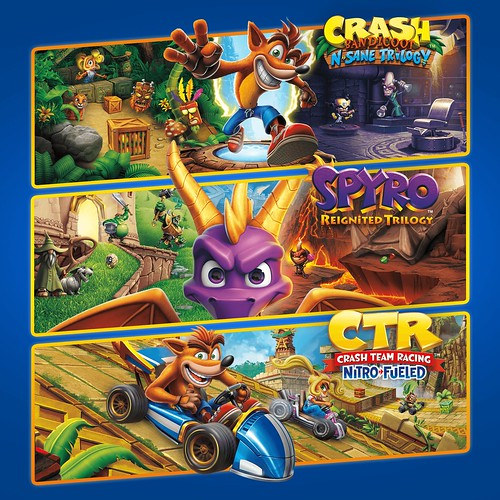 Thumbnail of Crash + Spyro Triple Play Bundle on PS4