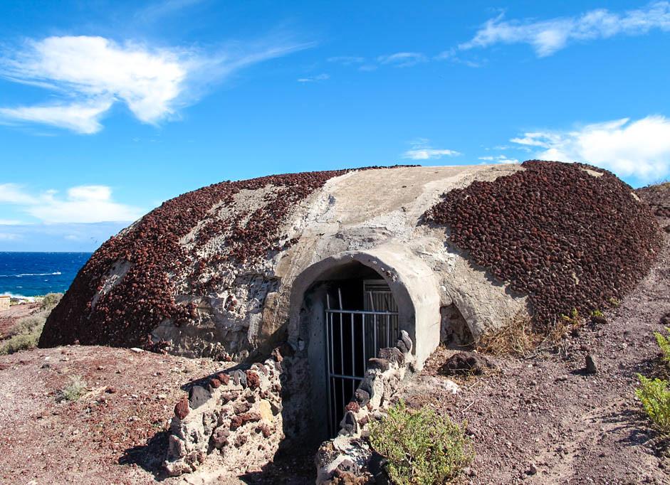 Bunker de la Segunda Guerra Mundial en Tenerife