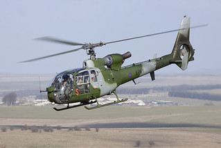 AAC Westland Gazelle AH1 ZB691