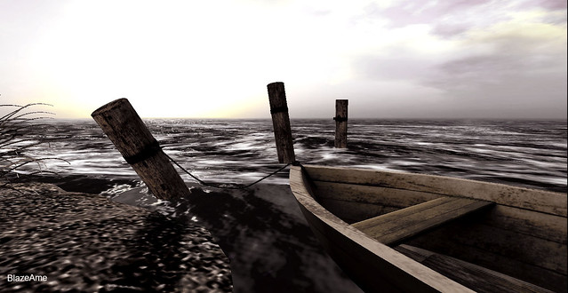 The boat fought the change of the tides