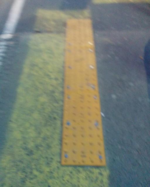 Blurred but aligned #toronto #ttc #yellow #warning