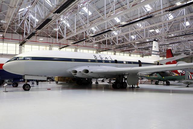G-APAS  -  De Havilland DH106 Comet 1XB  -  BOAC  -  RAF Museum Cosford 15/11/19
