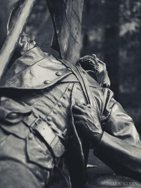 North Carolina Monument at South Mountain, Maryland