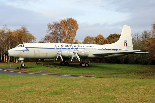 XM497 (G-AOVF) -  Bristol Britannia C1  -  Royal Air Force  -  RAF Museum Cosford 15/11/19