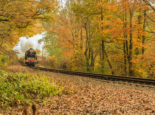 The Severn Valley Railway In Autumn Colours