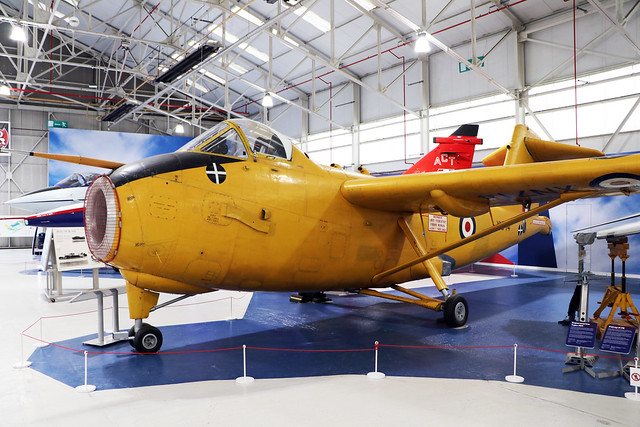 XN714  -  Hunting H126  -  Royal Air Force  -  RAF Museum Cosford 15/11/19