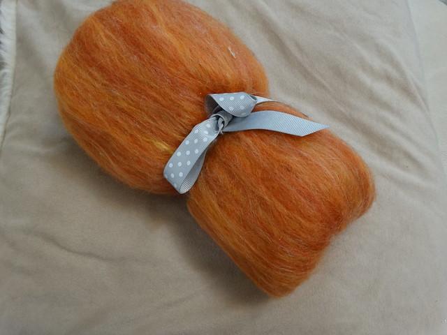 Orange Batt (Velvet Sixpence)