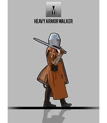 FORMME. Heavy Armor Walker
