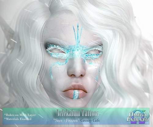 **NEW Group Gift** Nefekalum Tattoos - Seer: Frozen Edition