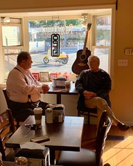 Rep. Bolinsky hosts Coffee and Conversation at Village Perk Cafe in Newtown.