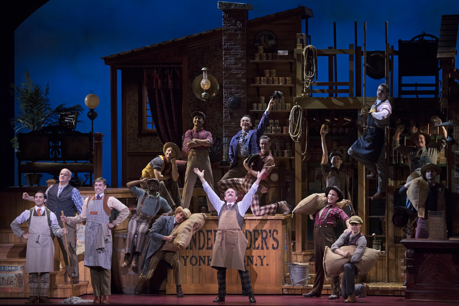 Broadway in Detroit: 'Hello, Dolly!' at Detroit's Fisher Theatre (Photo by Julieta Cervantes) - via Wading in Big Shoes