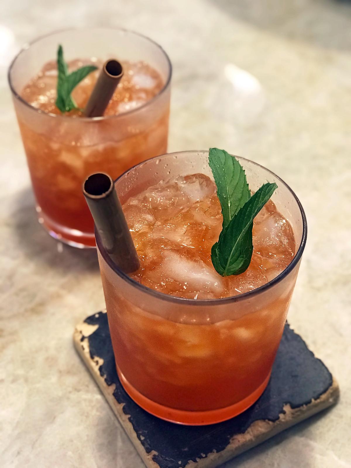 aperol rum pineapple cocktail