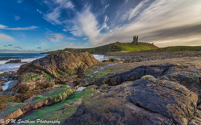 Whin Sill At Dunstanburgh