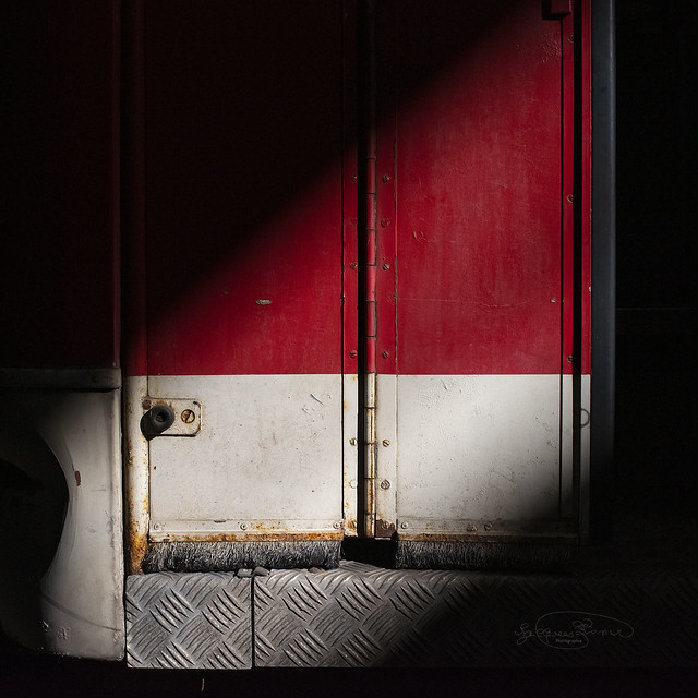 Une porte.
