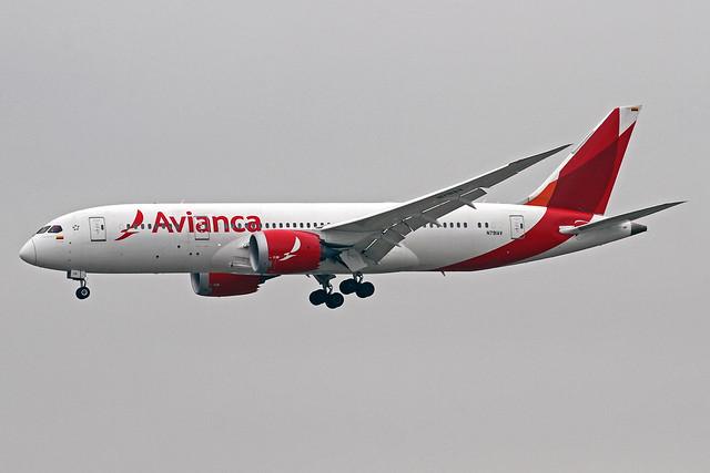 Avianca Boeing 787-859 N791AV MAD 17-10-19