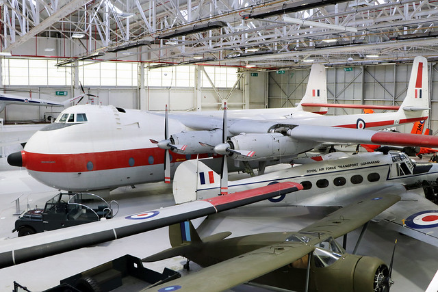 XP411  -  Armstrong Whitworth Argosy C1  -  Royal Air Force  -  RAF Museum Cosford 15/11/19