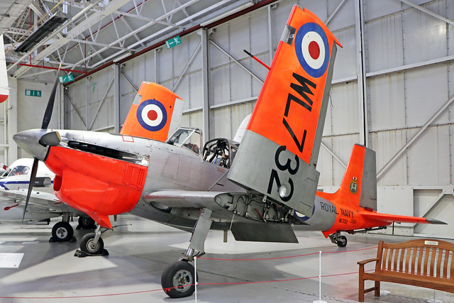 WL732 Boulton Paul Sea Balliol T.21 Royal Navy