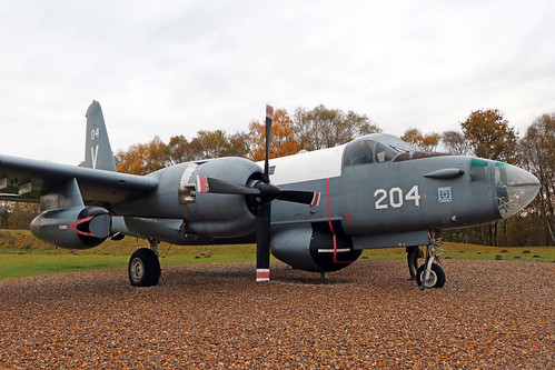 204 -  Lockheed P2V/7S Neptune  -  Royal Netherlands Navy  -  RAF Museum Cosford 15/11/19 | by Plane Martin