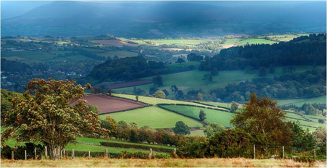 View of Brecon