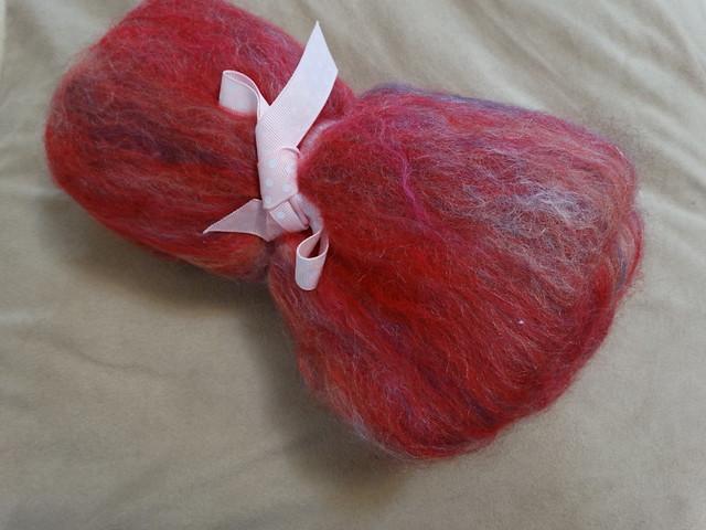 Pink Batt (Velvet Sixpence)