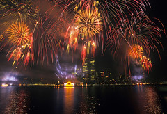 4th of July Fireworks, Twin Towers