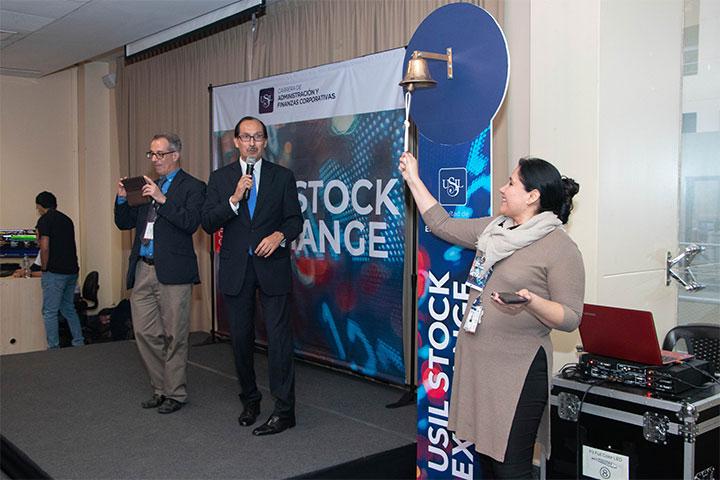 La Facultad de Ciencias Empresariales realizó el concurso USIL Stock Exchange