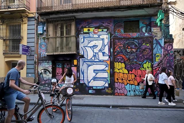 Streetart / Valencia